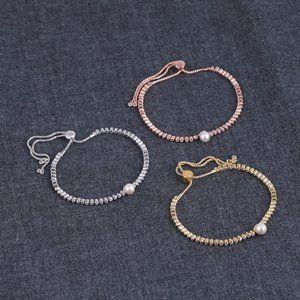 HenriBendel Drawstring Adjustable Diamond Bracelet